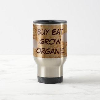 買物は育てますオーガニックなタンブラーを食べます トラベルマグ