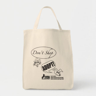 買物をしないで下さい、採用しないで下さい! 買い物袋 トートバッグ
