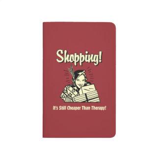 買物をすること: セラピーより安い ポケットジャーナル
