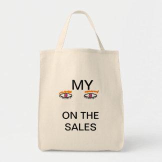 買物をすること トートバッグ