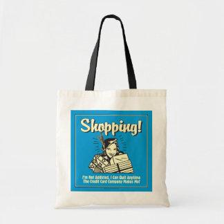 買物をすること: 私は常習していません トートバッグ