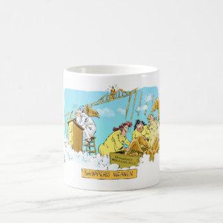 買物客の天国のマグ コーヒーマグカップ