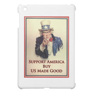 買物米国の商品の米国市民ポスター iPad MINI カバー