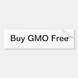 買物GMOは放します バンパーステッカー