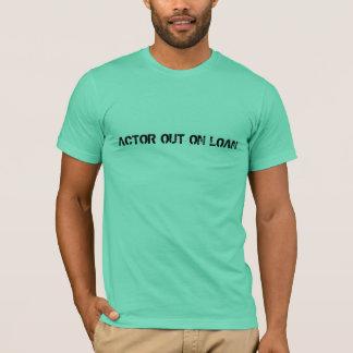 貸付け金のTシャツの俳優 Tシャツ