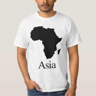 費用に敏感なアフリカアジア Tシャツ