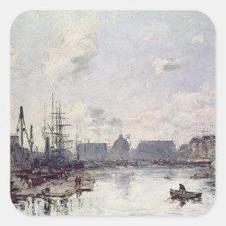貿易の港、ルアーブル1892年 スクエアシール