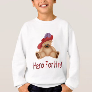 賃借りのための英雄 スウェットシャツ