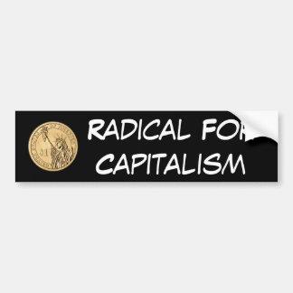 資本主義のための基 バンパーステッカー