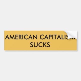 資本主義の最低 バンパーステッカー