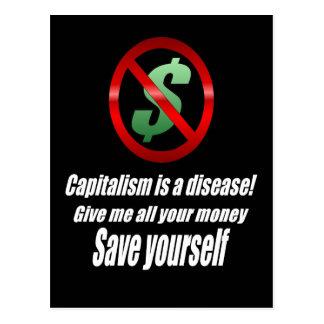 資本主義の郵便はがき ポストカード