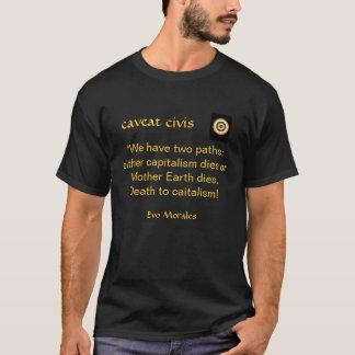 資本主義への死 Tシャツ