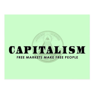 資本主義 ポストカード