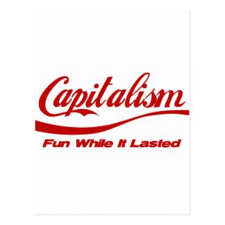 資本主義-持続する間、おもしろい ポストカード