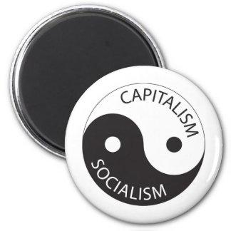 資本主義、社会主義; イン、ヤン マグネット