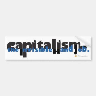 資本主義: 見えない手の仕事 バンパーステッカー