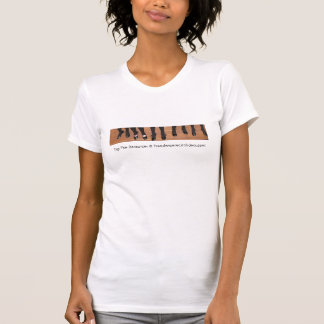 資源@ Freedancerecitalideas.comを叩いて下さい Tシャツ