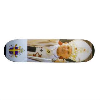 賛美された法王ヨハネパウロ二世 スケートボード