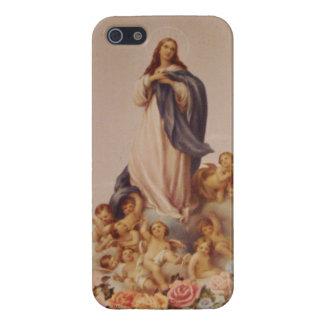 賛美された聖母マリアの仮定 iPhone 5 COVER
