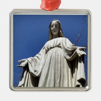 賛美された聖母マリア メタルオーナメント
