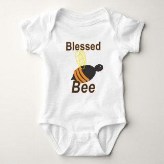 賛美された蜂! 《昆虫》マルハナバチの乳児のクリーパー ベビーボディスーツ