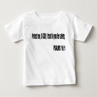 賛美歌の聖書の詩 ベビーTシャツ