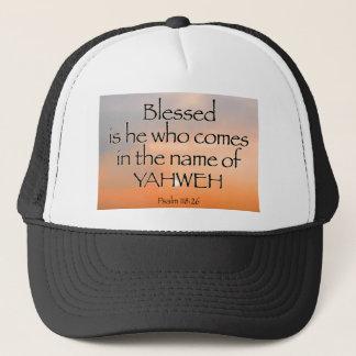 賛美歌の118:26の帽子 キャップ