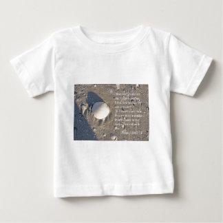 賛美歌の139:17 - 18の貝版 ベビーTシャツ