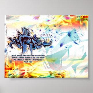 賛美歌の143:8 ポスター