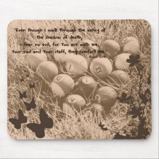 賛美歌の23:4 マウスパッド