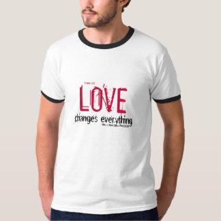 、賛美歌の42:8愛して下さい、すべて、Shay及びMを…変えます Tシャツ