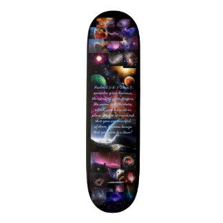 賛美歌の8:3 - 4壮麗な宇宙スケートボード8 1/8 スケボー