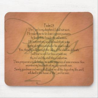 賛美歌23 KJVのキリスト教の聖書の詩 マウスパッド
