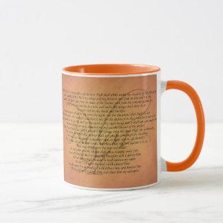 賛美歌91の聖書の詩 マグカップ