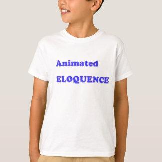 賞のギフト:  生気に満ちた雄弁の言葉遊び Tシャツ