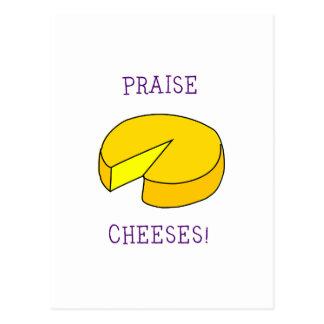 賞賛のチーズ ポストカード