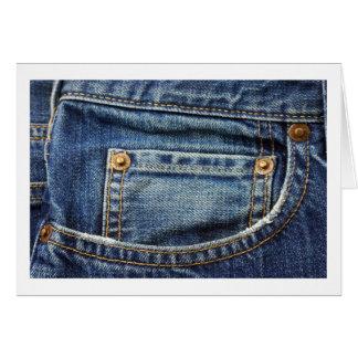 賞賛のポケット カード