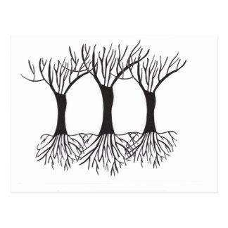 賞賛の木 ポストカード