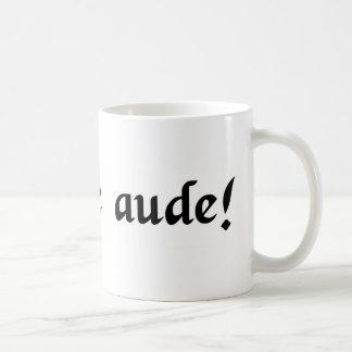 賢いがある挑戦! コーヒーマグカップ