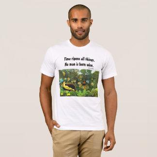 賢いことわざおよび芸術 Tシャツ