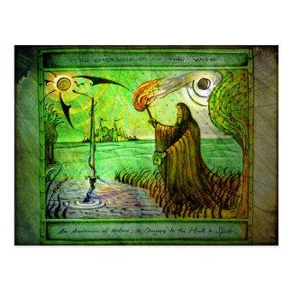 賢いのの出現-自然カード ポストカード