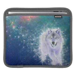 賢いオオカミ iPadスリーブ