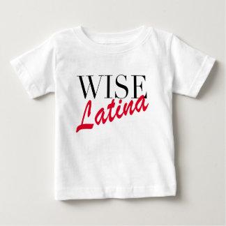 賢いラテンアメリカ系女性のTシャツ ベビーTシャツ