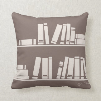 賢い奴または読書恋人の枕のための本 クッション