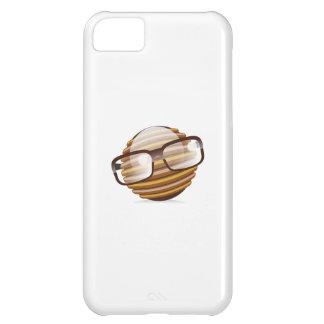 賢い奴-ガラスとのギークのスマイリー iPhone5Cケース