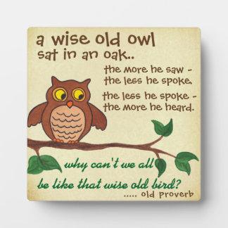 賢く古い諺-プラク フォトプラーク