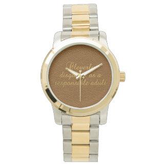 賢く隠された腕時計 腕時計