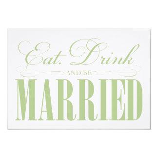 賢人は、飲み物食べましたり及び結婚したな のエンクロージャです カード