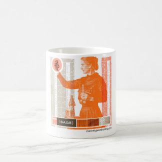賢明な原型 コーヒーマグカップ