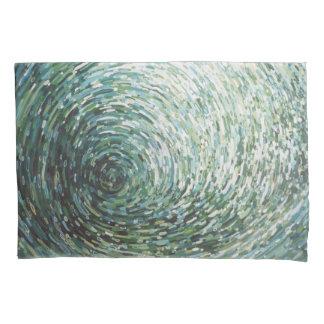 賢明な及び灰色の海洋波の反射の枕カバーJuul 枕カバー